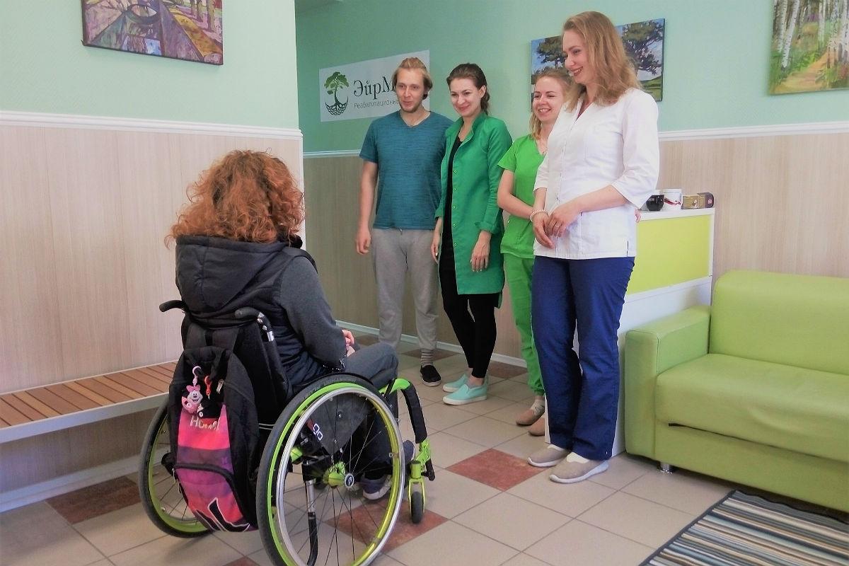 В центре ЭйрМЕД рады пациентам