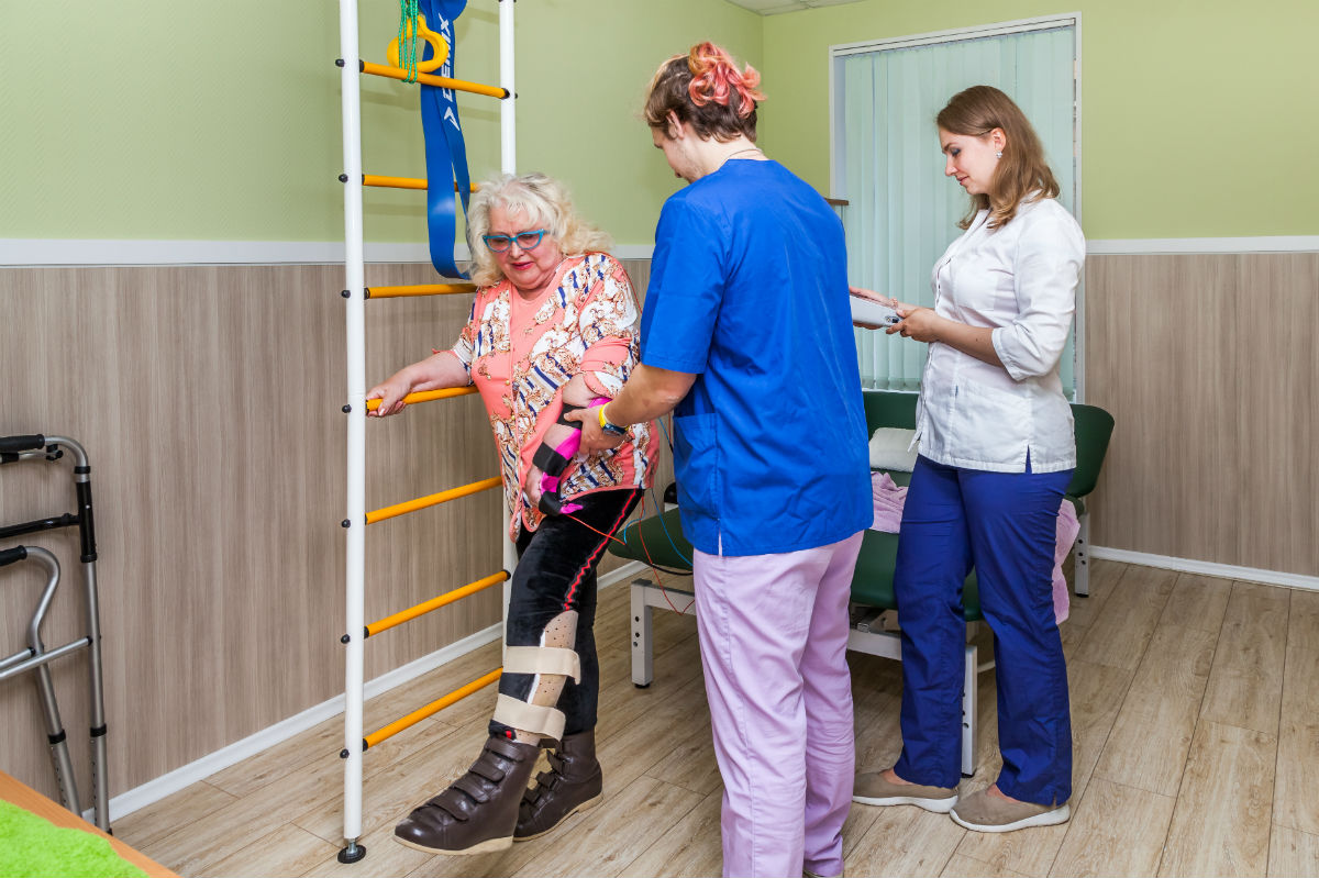 Восстановление движения после инсульта